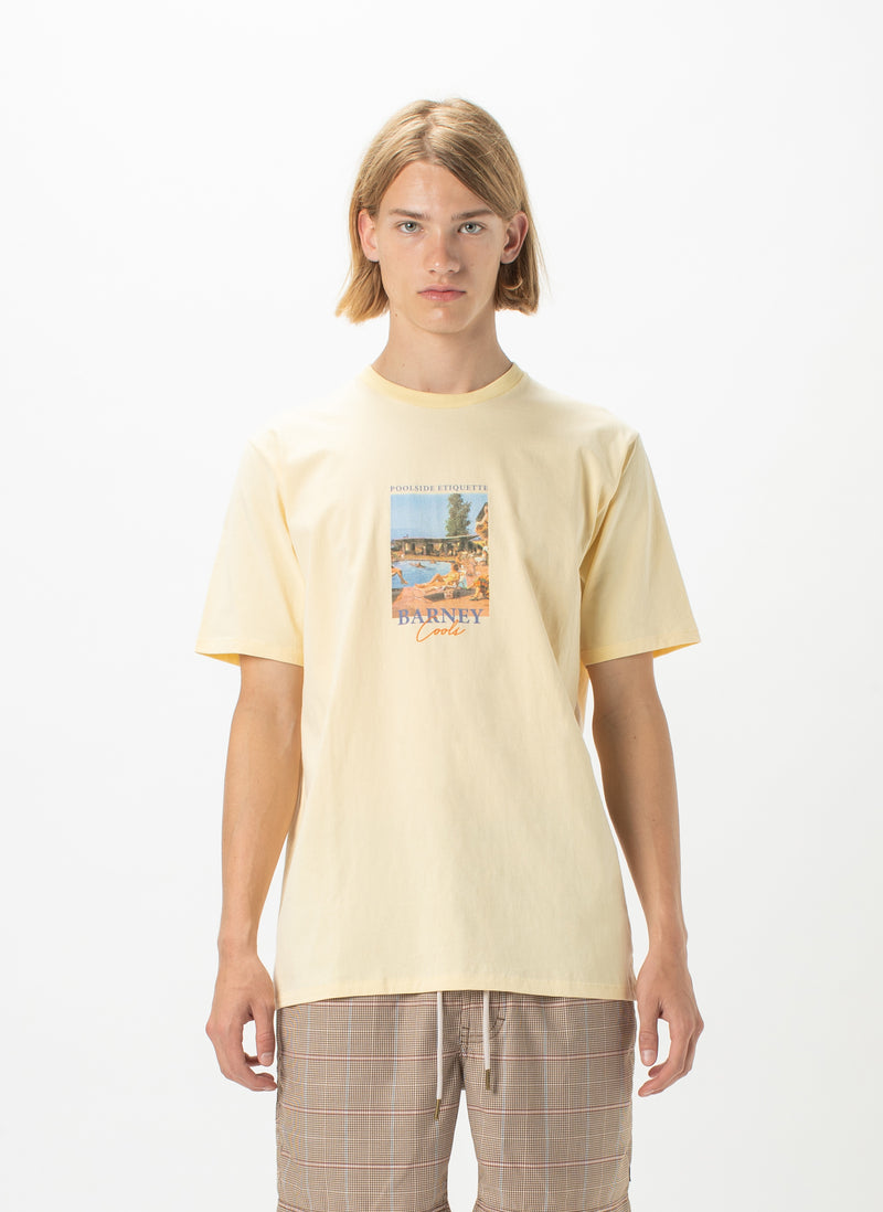 Postcard Tee Lemon