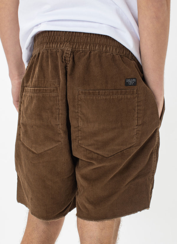 B.Relaxed Elastic Short Camel Cord