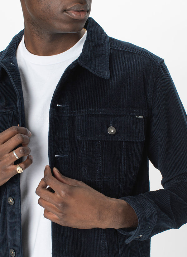 B.Rigid Jacket Navy Cord