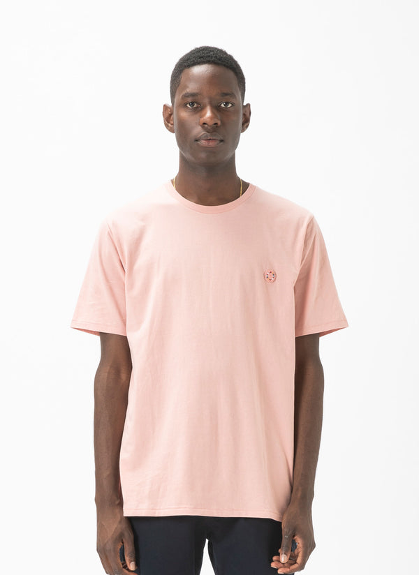 Badge Tee Dusty Pink