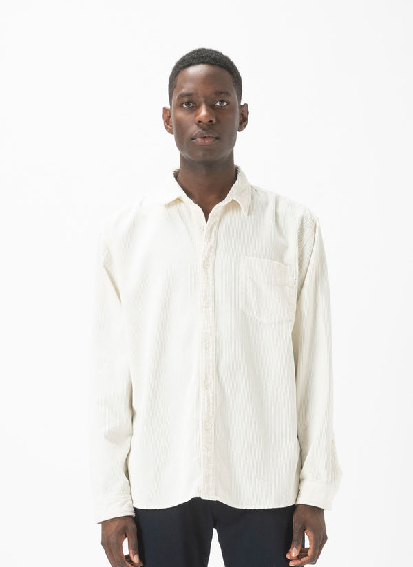 Cabin Long-Sleeve Shirt White Cord