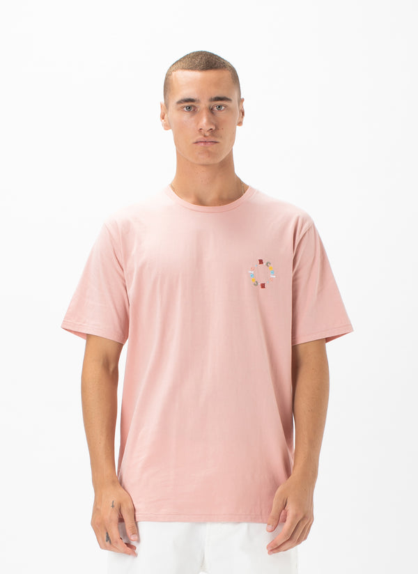 Circle Tee Dusty Pink