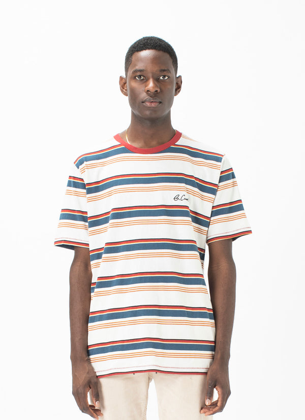 B.Cools Embro Tee Sahara Stripe