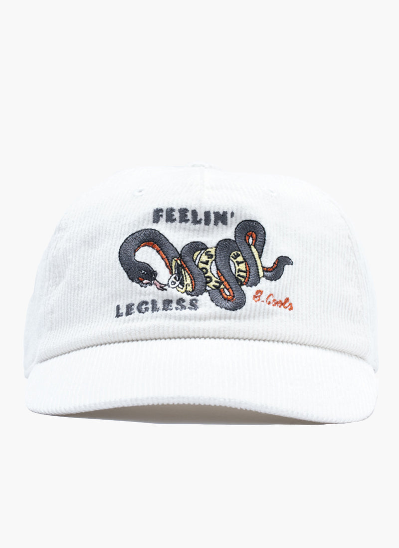 Feelin' Legless Cap White Cord
