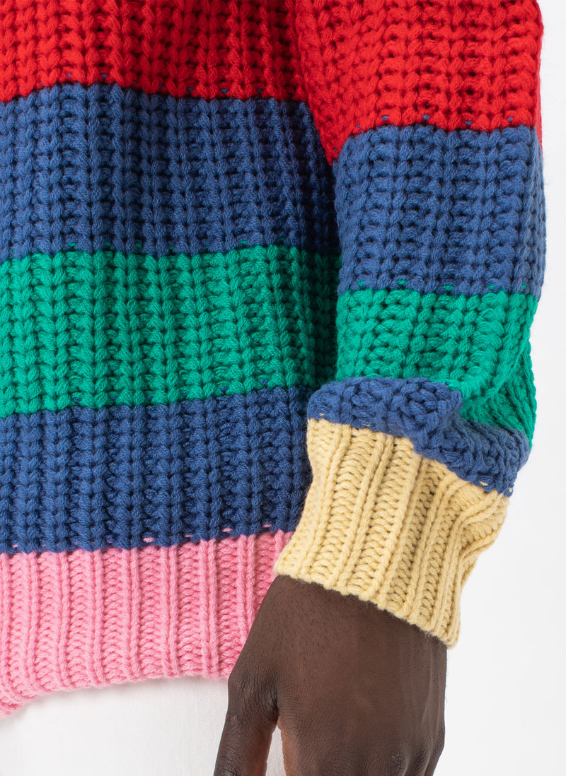 Gerald Knit Sweater Stripe