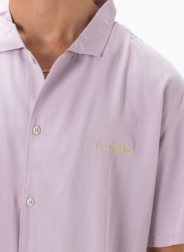 Holiday Camp-Collar Shirt Lilac