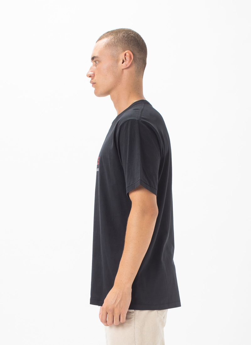 Leisure Club Tee Black