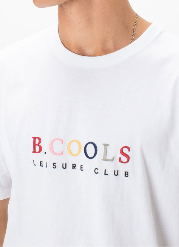 Leisure Club Tee White