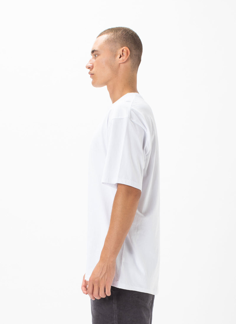 Leisure Micro Tee White