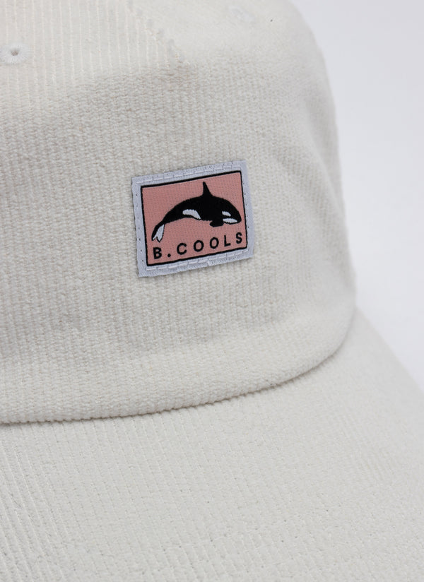 Orca Cord 5-Panel Off White