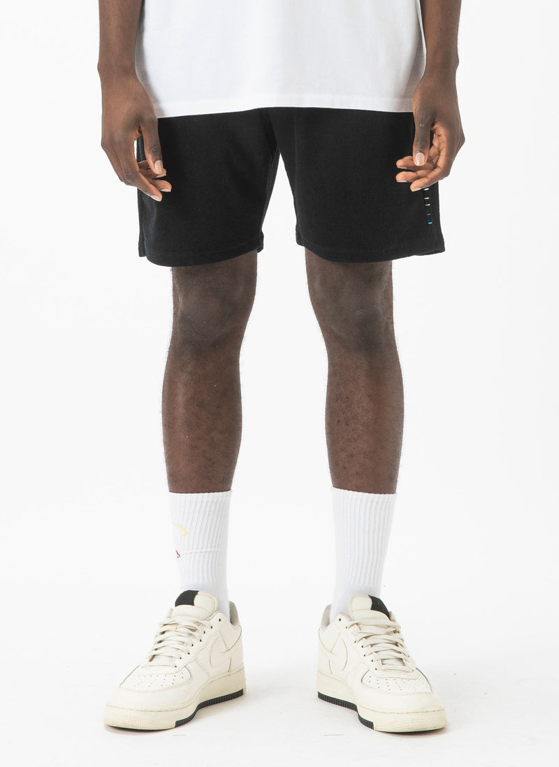 Poolside Terry Short Black