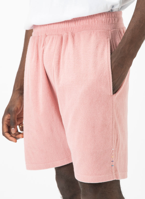 Poolside Terry Short Pink