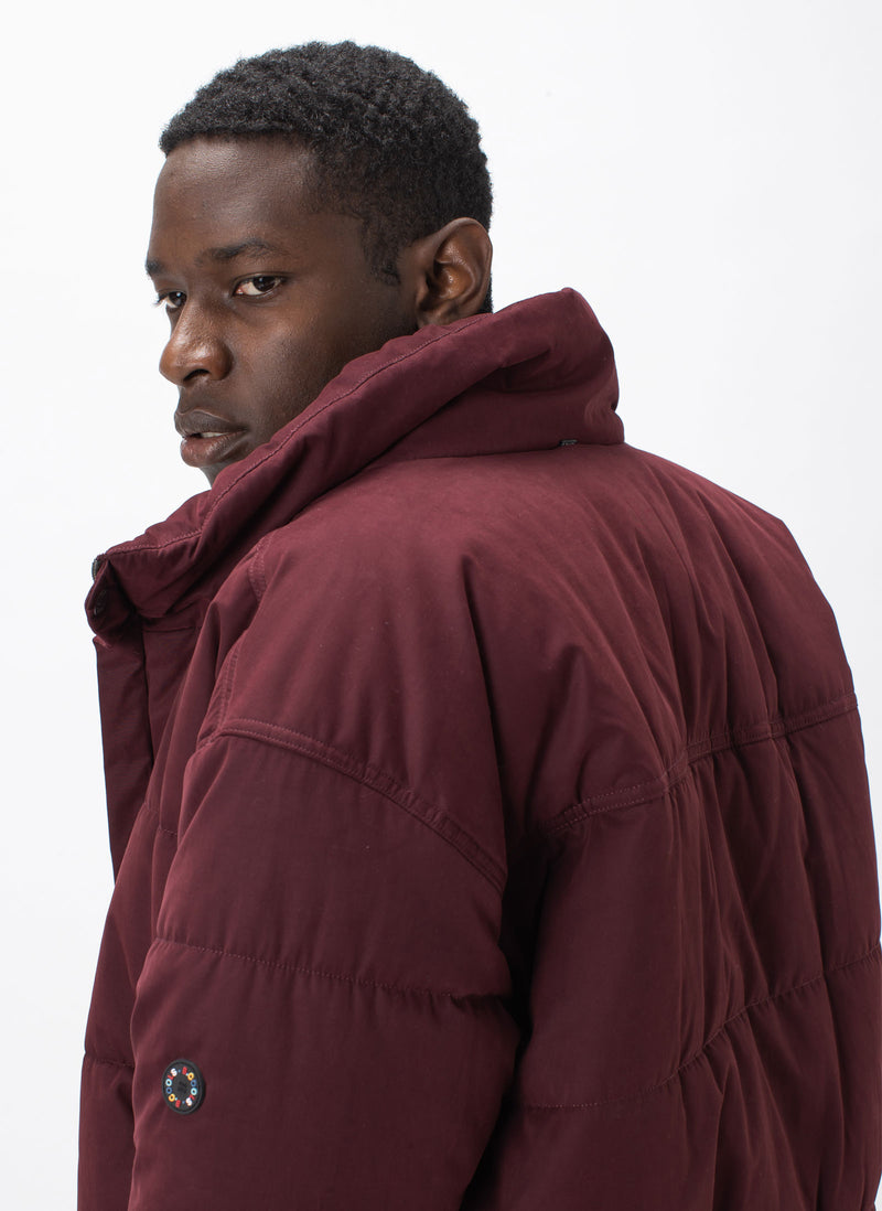 Puff Club Jacket Oxblood