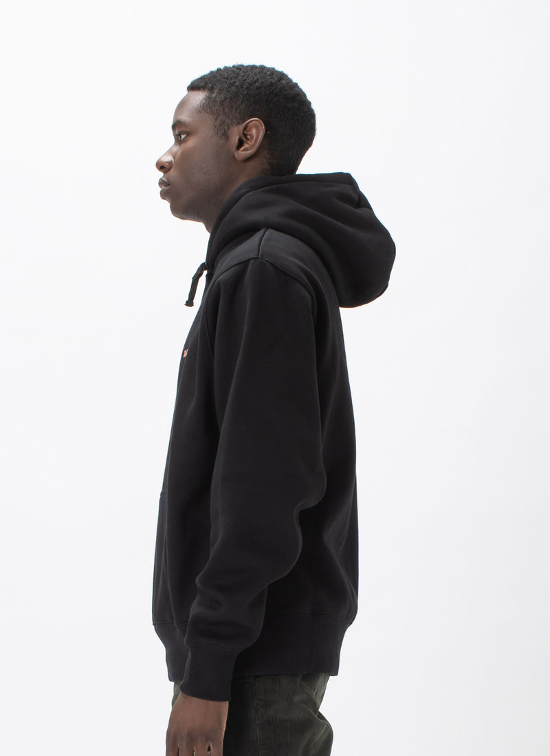 B.Cools Retro Embro Hood Sweatshirt Black