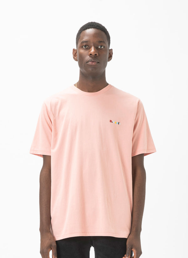 B.Cools Retro Embro Tee Dusty Pink