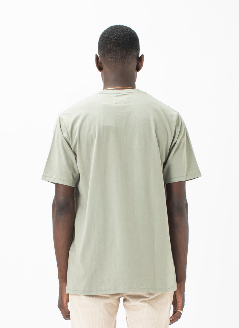 B.Cools Retro Embro Tee Sage