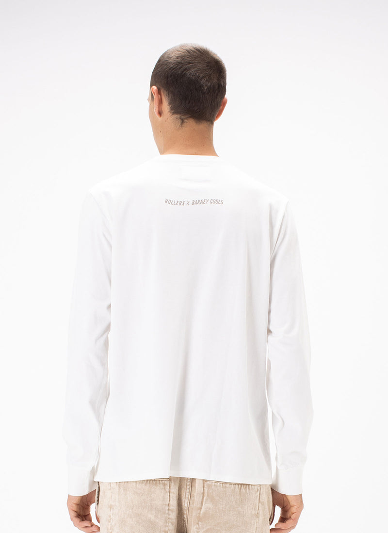 Rollers Bakehouse x B.Cools LS Tee White