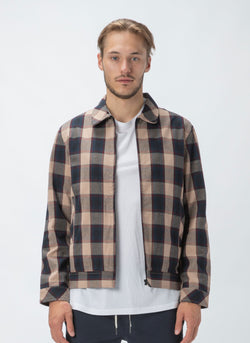 Club Jacket Beige Check