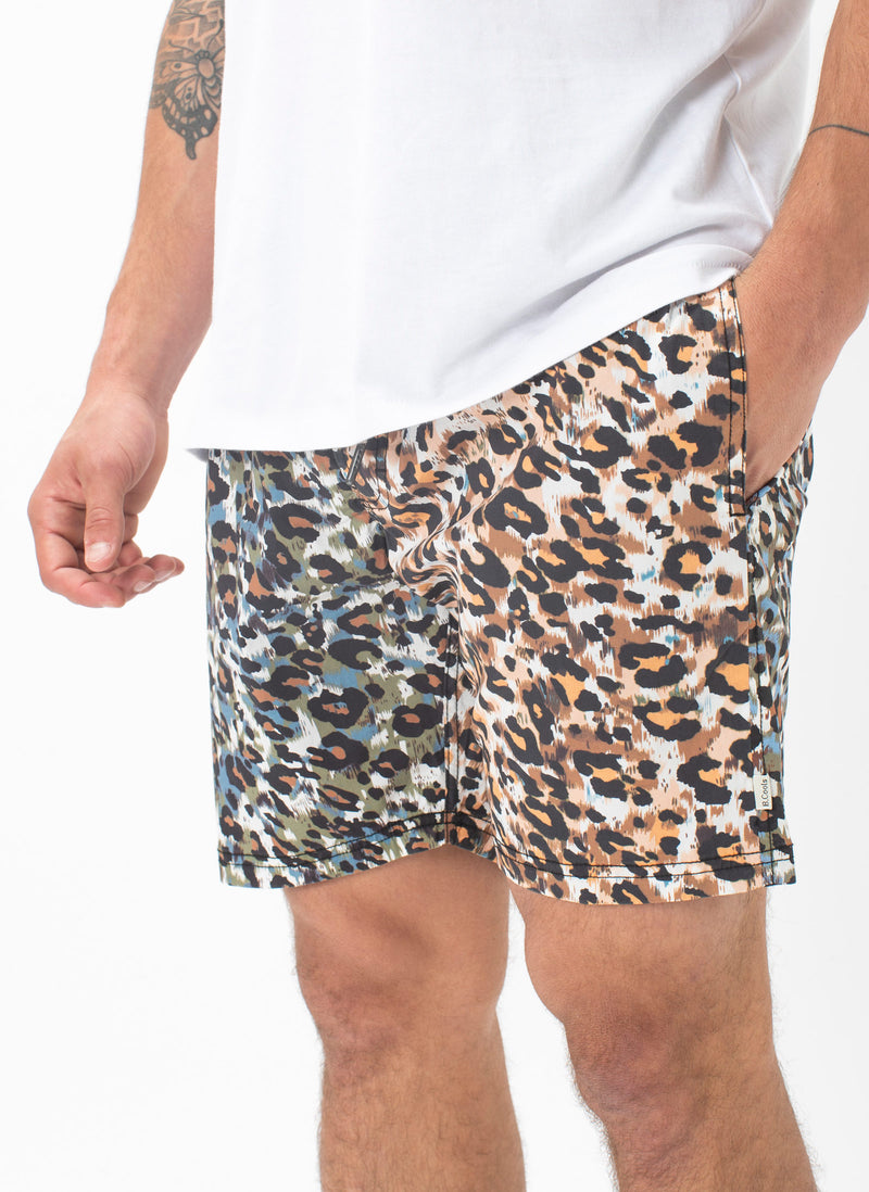 "Amphibious 17"" Short Animalistic"