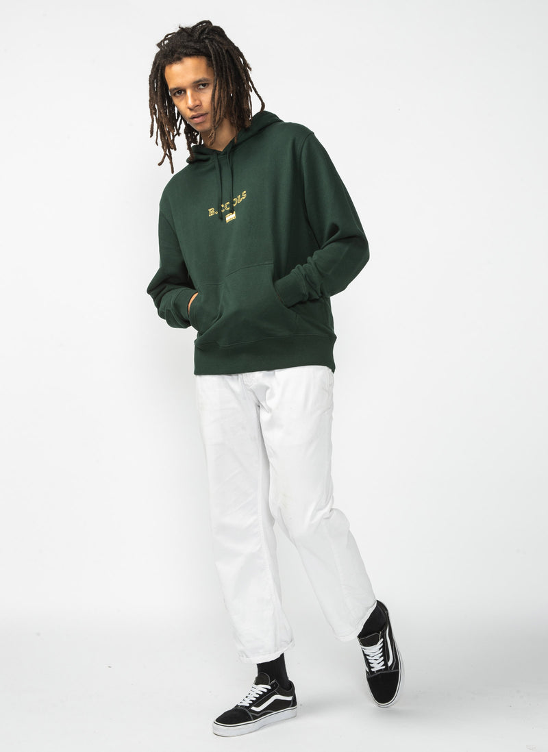 B.Cools Flag Hood Sweatshirt Forest - Sale