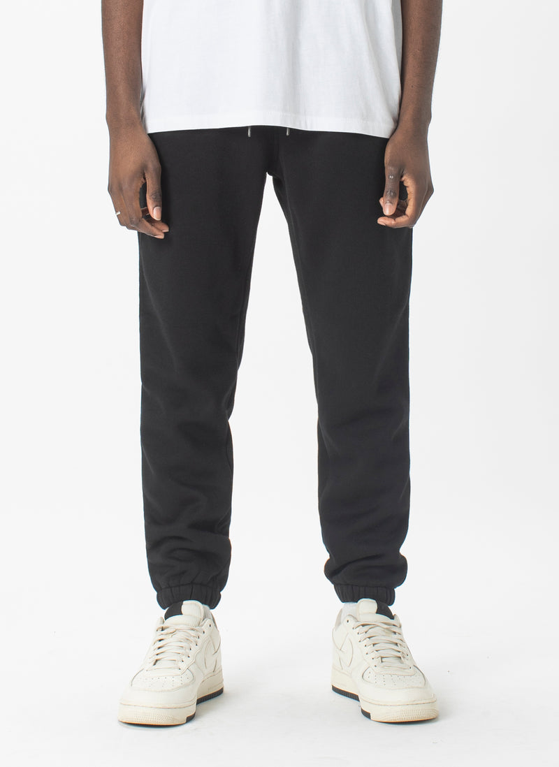 Badge Sweatpant Black