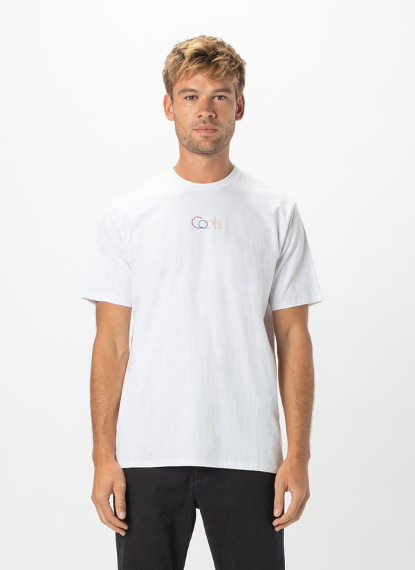 Cools Embro Tee White