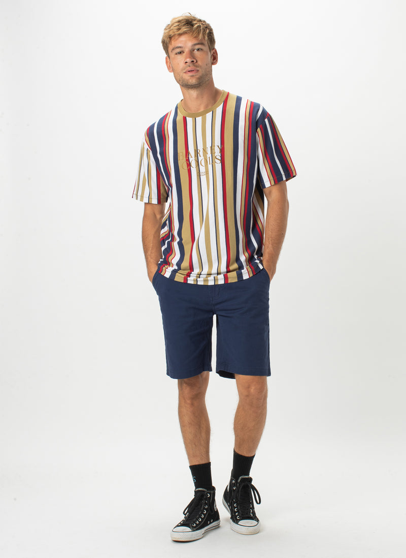 Barney Cools Embro Tee Gold Stripe