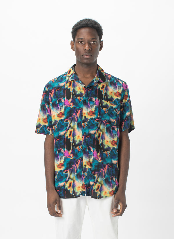 Holiday Short-Sleeve Shirt Acid Trip