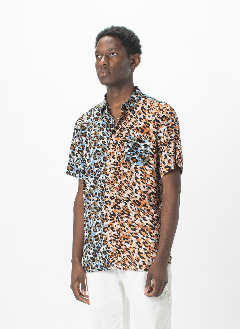 Holiday Short-Sleeve Shirt Animalistic