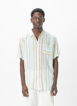 Holiday Short-Sleeve Shirt Malibu Stripe