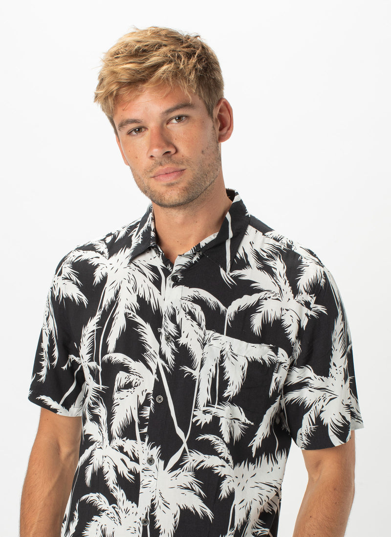 Holiday Short-Sleeve Shirt Palms