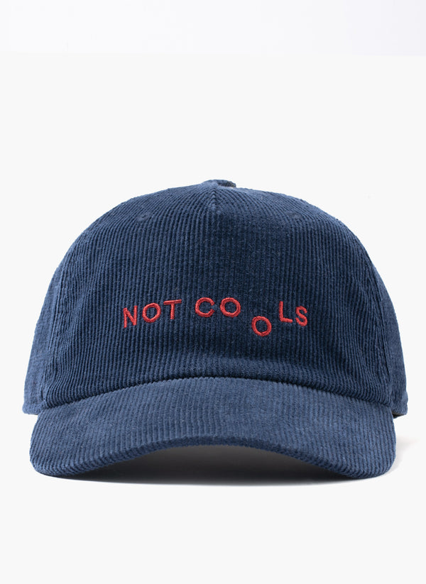 Not Cools Cord 5-Panel Navy