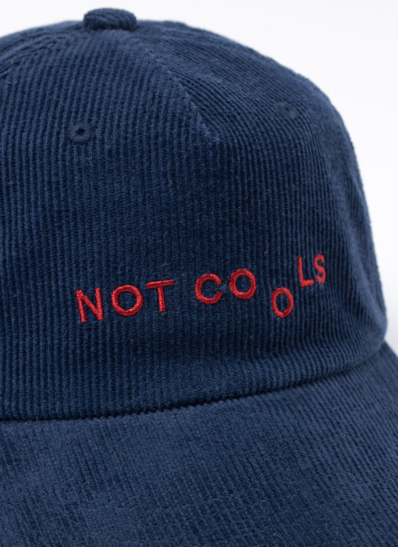 Not Cools Cap Navy Cord