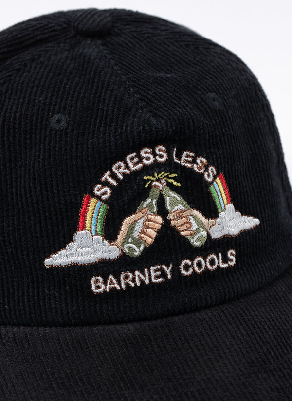 Stress Less Cap Black Cord