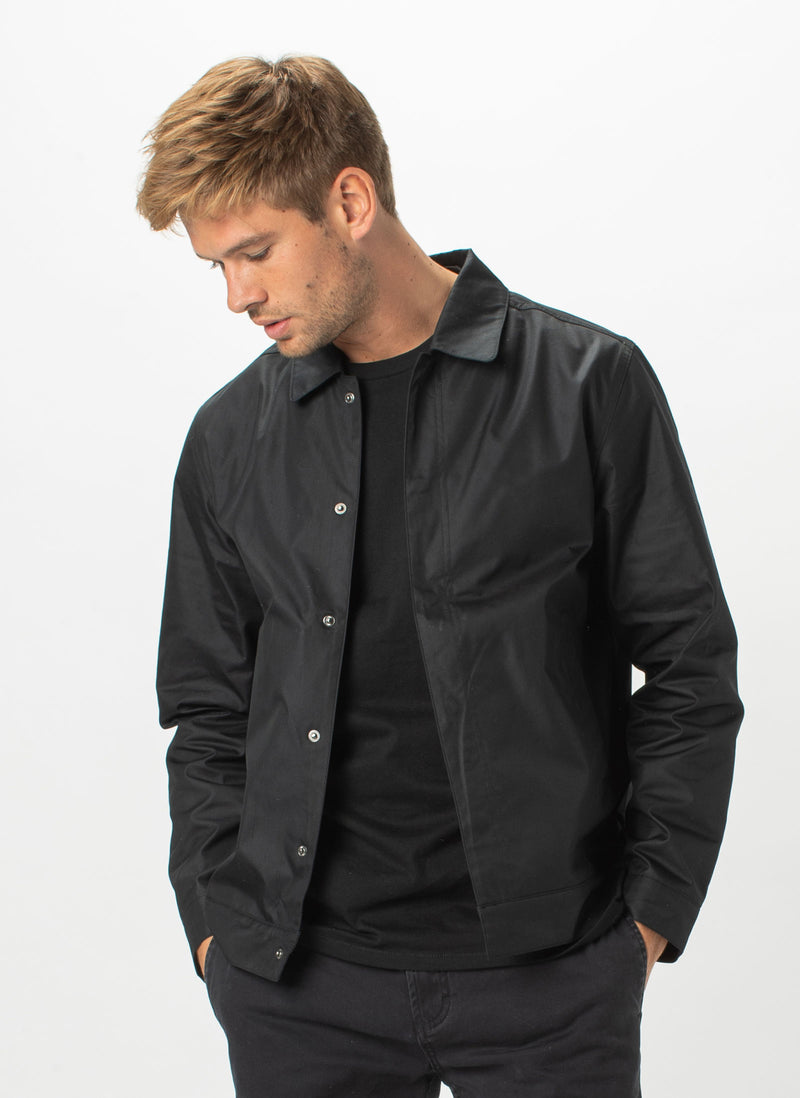 B.Cools Coach Jacket Black