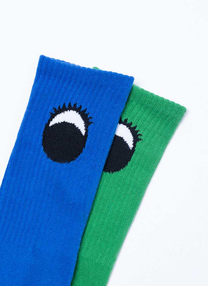 Gerald 2-Pack Sock Blue/Green