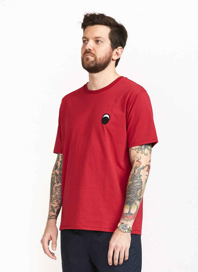 Eye Tee Dull Red
