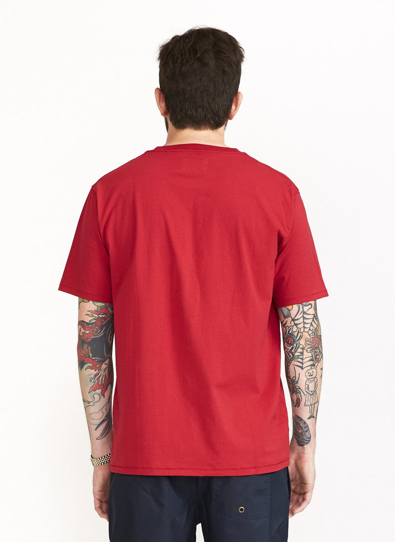 Eye Tee Dull Red - Sale
