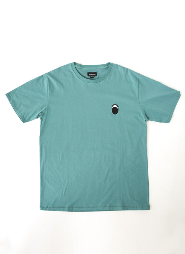 Eye Tee Washed Green - Sale