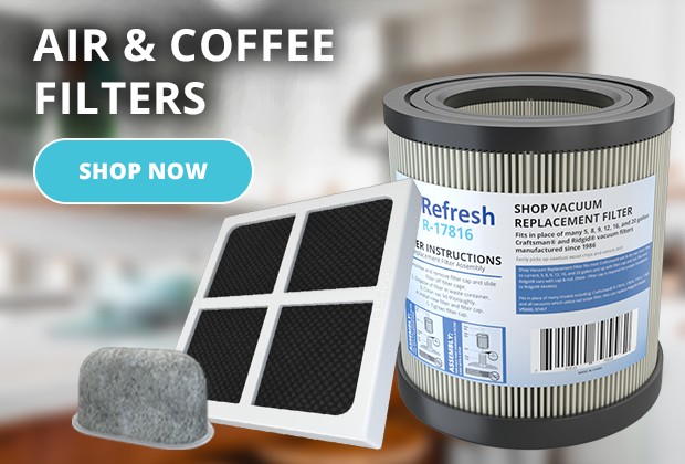 Shop for Coffee and Air Filters