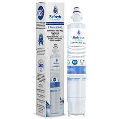 Brand New Refresh R-3600 Replacement Water Filter - Fits GE RPWF Smartwater