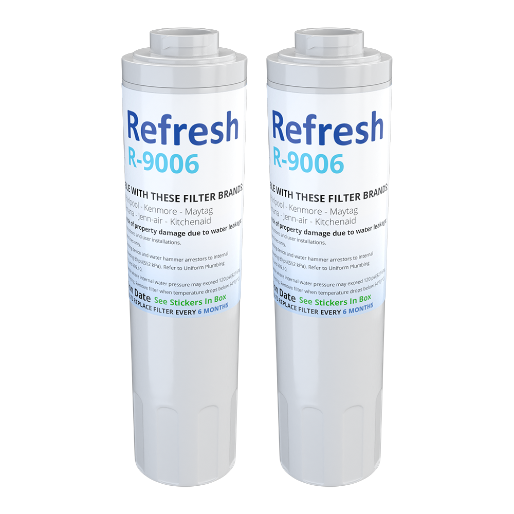 Refresh R-9006 Replacement Water Filter - Fits Maytag 4396395, UKF8001AXX, Puriclean II, and more!