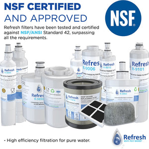 Refresh R-640565 Replacement Refrigerator Water Filter for Bosch 640565, EVOLFLTR10 AP3961137, Whirlpool WHKF-R-Plus and more!