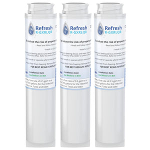 Refresh R-GXRLQR Replacement Refrigerator Water Filter Compatible with GE GXRLQR, GXRLQ, GX1S50, GXSTQ, GXRLOR and more!