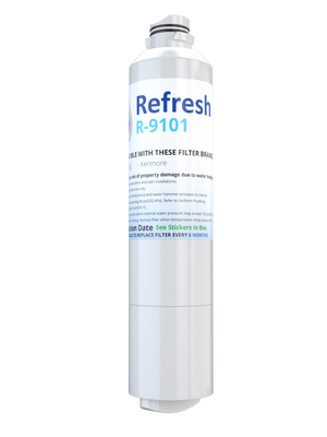 Refresh R-9101 Replacement Water Filter - Fits Samsung DA29-00020B, RF23HCEDBBC/AA, RS25H5000SR, and more!