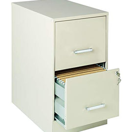 "Lorell SOHO 22"" 2-Drawer File Cabinet"