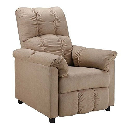 Dorel Living Slim Recliner, Beige