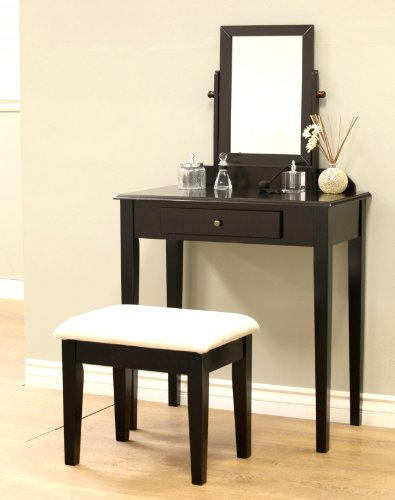 Frenchi Home Furnishing 3 Piece Vanity Set