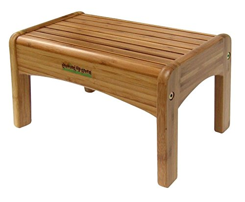 Growing Up Green Bamboo Step Stool