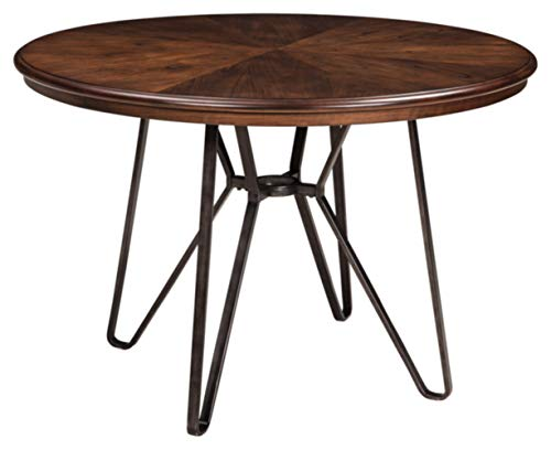 Signature Design by Ashley Centiar Dining Room Table, Two-tone Brown